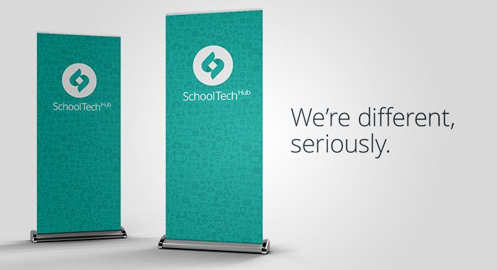 School Tech displays