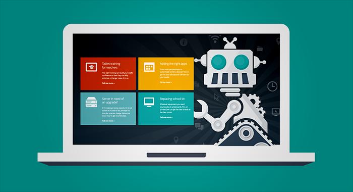 School Tech web